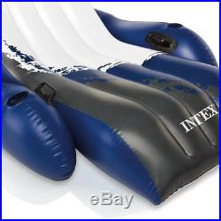 Intex 20ft x 48in Ultra XTR Round Pool, Pump, Ladder, Lounger (2 Pack), & Cooler