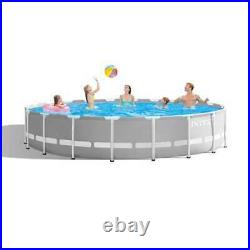 Intex 20ft x 52in Prism Frame Above Ground Pool Set with Filter Pump (For Parts)