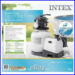 Intex 2100 GPH Above Ground Pool Sand Filter Pump with Automatic Timer (Used)