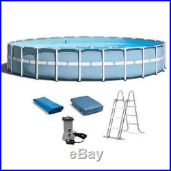 Intex 24'x 52 Prism Frame Swimming Pool with Ladder & Filter Pump (Open Box)