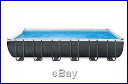 Intex 24ft X 12ft X 52in Ultra Pool XTR Filter Pump Ladder & Cover Aug Preorder