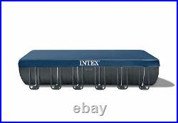 Intex 24ft X 12ft X 52in Ultra XTR Frame Swimming Pool Set with Sand Filter Pump