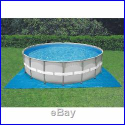 Intex 24ft x 52in Ultra Steel Frame Above Ground Swimming Pool Set with Pump