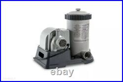 Intex 2500 GPH Replacement FIlter Pump Housing and Motor NEW 120v
