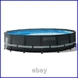 Intex 26309ST 14'x42 Ultra XTR Frame Above Ground Pool Set with Pump (For Parts)