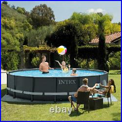 Intex 26309ST 14' x 42 Ultra XTR Frame Above Ground Swimming Pool Set with Pump