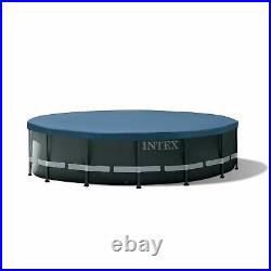 Intex 26325EH 16Ft x 48In XTR Frame Above Ground Pool Set with Pump (For Parts)