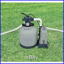 Intex 2650 GPH Saltwater System Filter Pump Swimming Pool 28679EG (For Parts)