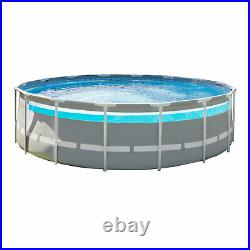 Intex 26729EH 16ft x 48in Clearview Prism Above Ground Pool with Pump (Open Box)