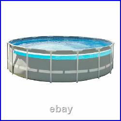 Intex 26729EH 16ft x 48in Clearview Prism Above Ground Swimming Pool with Pump