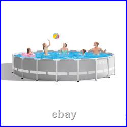 Intex 26755EH 20ft x 52inch Above Ground Swimming Pool Set with Filter Pump