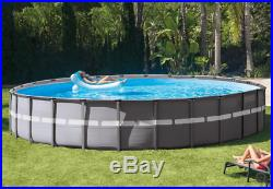 Intex 26ft X 52in Ultra XTR Round Frame Pool Set With Sand Filter Pump NEW