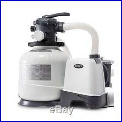 Intex 2800 GPH Above Ground Pool Sand Filter Pump with Automatic Timer (For Parts)