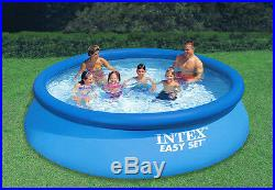 Intex 28131EH 12ft x 30in Easy Set Up Inflatable Swimming Pool with Filter Pump
