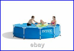 Intex 28200EH 10' x 30 Above Ground Round Swimming Pool Pump Included