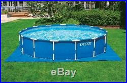 Intex 28253EH 18ft x 48in Prism Metal Frame Above Ground Swimming Pool with Pump