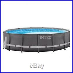 Intex 28310 pool ultra frame rounded 427x107 cm with pump filter and ladder d
