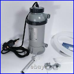 Intex 28684 Pool-Heater Pump Electric Pool 3KW for swimming pool complete 230V