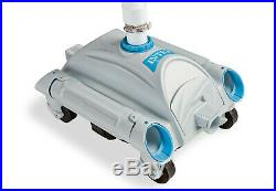 Intex 3000 GPH Above Ground Pool Sand Filter Pump and Automatic Pool Vacuum