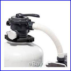 Intex 3000 GPH Above Ground Pool Sand Filter Pump with Automatic Timer (Used)
