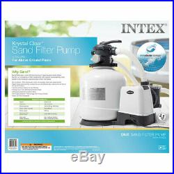 Intex 3000 GPH Above Ground Pool Sand Filter Pump with Plunger Valves Parts (Pair)