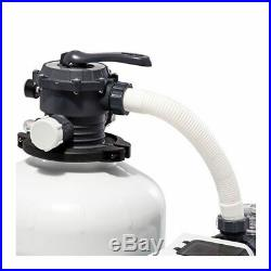 Intex 3000 GPH Krystal Clear Aboveground Swimming Pool Sand Filter Pump with Timer