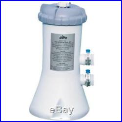 Intex 530 GPH Swimming Pool Filter Pump and 6 Type A Replacement Cartridges
