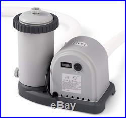 Intex Filter Pump 1500 GPH Above Ground Swimming Pool Flow Clear Crystal Clear