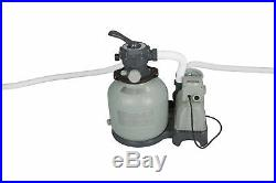 Intex Krystal Clear 2800 GPH Above Ground Swimming Pool Sand Filter Pump 28647EG