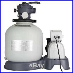 Intex Krystal Clear 3000 GPH Above Ground Pool Sand Filter Pump (For Parts)