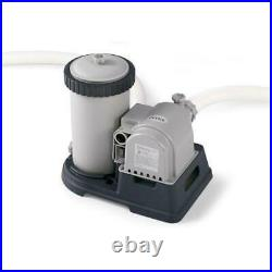 Intex Krystal Clear Cartridge Filter Pump for Above Ground Pool up to 3,800
