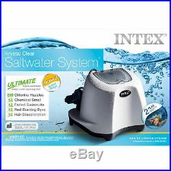 Intex Krystal Clear Saltwater System for Above Ground Swimming Pools (2 Pack)