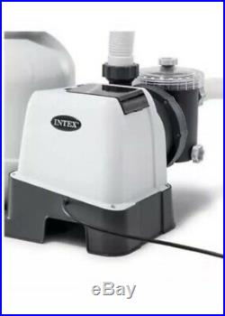 Intex Krystal Clear Sand Filter Pump for Above Ground Pools, 12-inch, SF80110-2