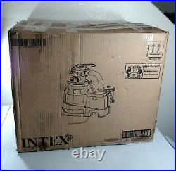Intex Krystal Clear Sand Filter Pump for Above Ground Pools, 16-inch, Parts Only