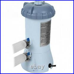 Intex Pool Pump and Filter 1000 Gal/h for 6FT 8FT 10FT 12FT 15FT 18FT Pools