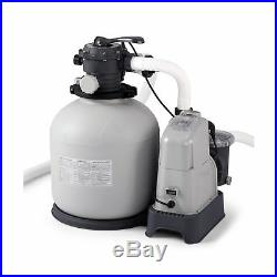 Intex Pool Sand Filter 2150 GPH Pump Salt Water System 110 120 V with GCFI ECO New