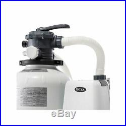 Intex Sand Filter Pump with Automatic Timer, Replacement Hose Adapters and Parts