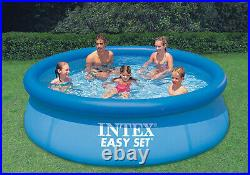NEW Intex 10 ft x 30 In. Easy Set Above Ground Swimming Pool With Filter Pump
