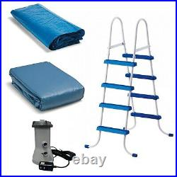 NEW Intex 15' x 48 Easy Set Above Ground Swimming Pool with Ladder & Pump