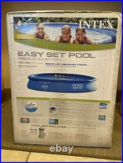 NEW Intex 15ft x 33in Easy Set Swimming Pool with Filter Pump READY TO SHIP