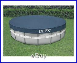 NEW Intex 20ft x 52in Prism Frame Swimming Pool with Filter, Pump, Ladder, Cover