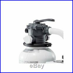 NEW Intex 2100 GPH Above Ground Pool Sand Filter Pump with Automatic Timer 26645EG
