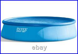 New Intex 18'x48 Inflatable Easy Set Above Ground Pool with 1500 GPH Pump