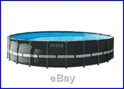 Outdoor Swimming Pool 22 Ft x 52 Inch Large Summer Fun Water Play Pump Ultra XTR