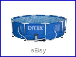 Pool Intex brand with 4485 L circular design with filter pump measure 305 x 76cm