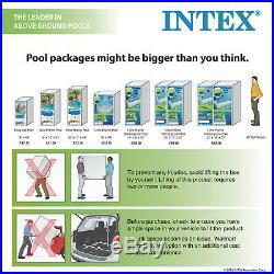 Rectangular Pool Intex 16 x 8 x 42 Prism With Ladder, Filter Pump and Cover