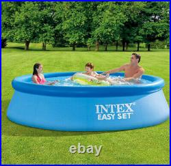SEALED Intex 10×30 Easy Set Above Ground Swimming Pool & Filter Pump SHIPS NOW