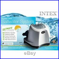 Salt Water Filter System Sanitizing Above Ground Pools 15,000 Gal Auto Recycle