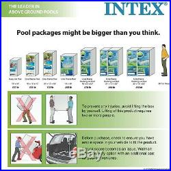 Swimming Pool Set 24' x 12' x 52 with Sand Pump Ultra XTR Frame Ladder Cover Cloth